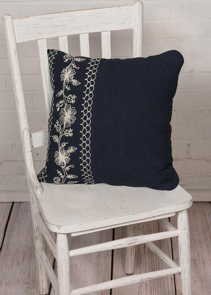 Throw Pillow-18x18-Cambria-Heritage Lace