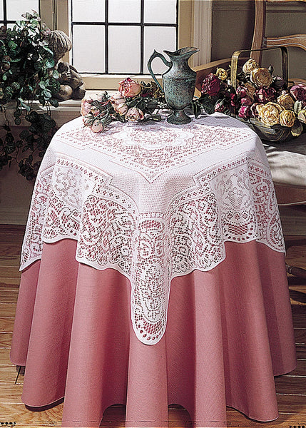 Table Linen-Tablecloth-Table Topper-Canterbury Classic-Heritage Lace