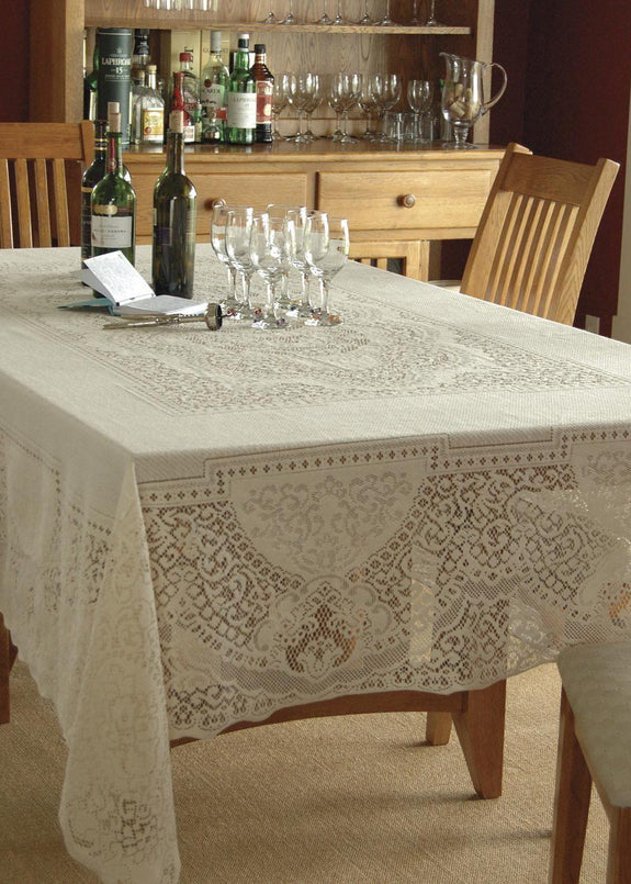 Table Linen-Tablecloth-Canterbury Classic-Heritage Lace