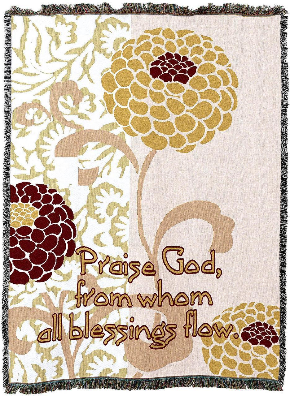 Christian Decor-Throw Blanket-54 x 72-Abstract-Praise God