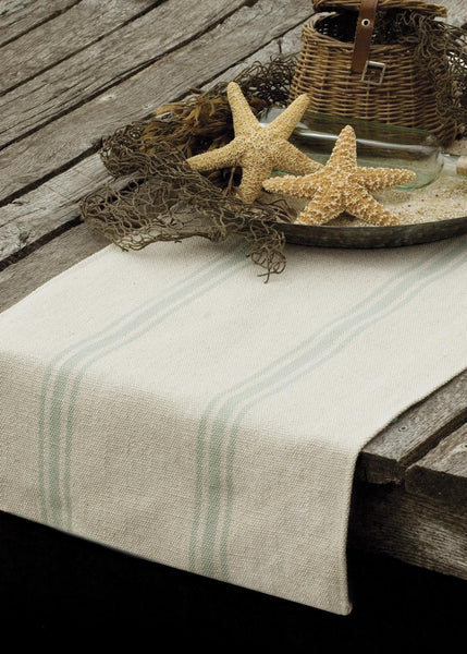 Table Linen-Runner-Dresser Scarf-Beach Life-Dory Bay-Heritage Lace