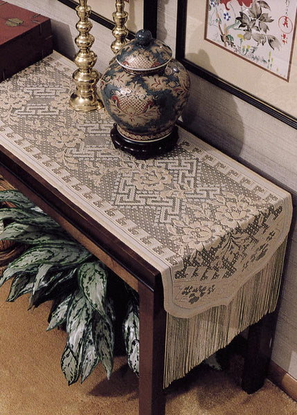 Table Linen-Runner-Dresser Scarf-Dynasty-Heritage Lace