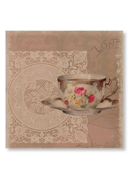 Downton Abbey-Tea Postmark-Wall Art