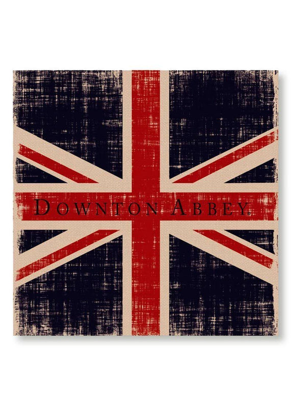 Downton Abbey-Union Jack- Wall Art