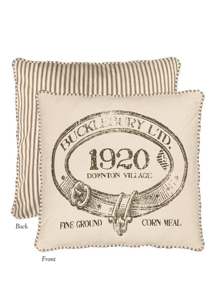 Downton Abbey- Village- 1920 Throw Pillow-Heritage Lace