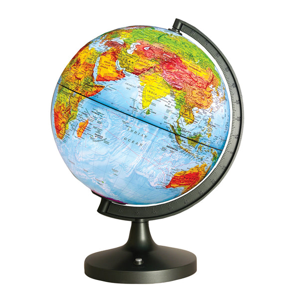Educational-Dual Cartography LED Illuminated Globe