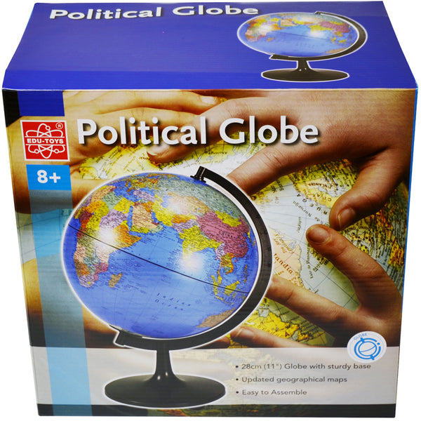 Educational-Globe-11 inch-Desktop-Political