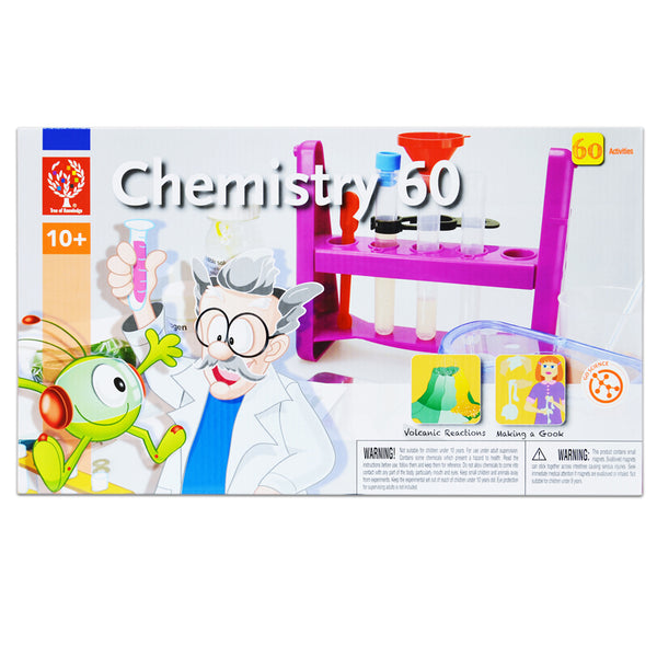 Educational-Science Lab-Chemistry 60-Ages 8-12