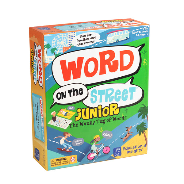 Language Arts-Word on the Street Jr.-Family Game