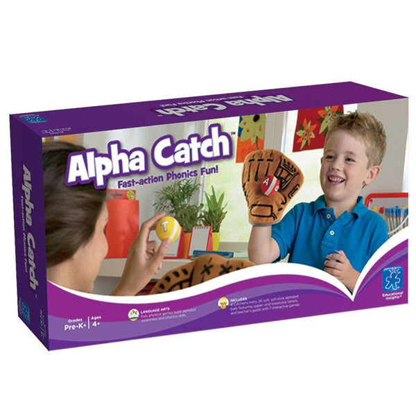 Educational Game-Language Arts Fun-Alpha Catch-Ages 4 Plus