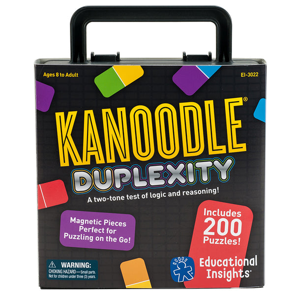 Strategy-Skill Puzzle-Educational-Kanoodle Duplexity-Ages 8 Plus