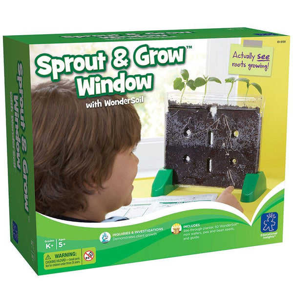 Sprout and Grow Window for Grades K and up - Seasonal Expressions