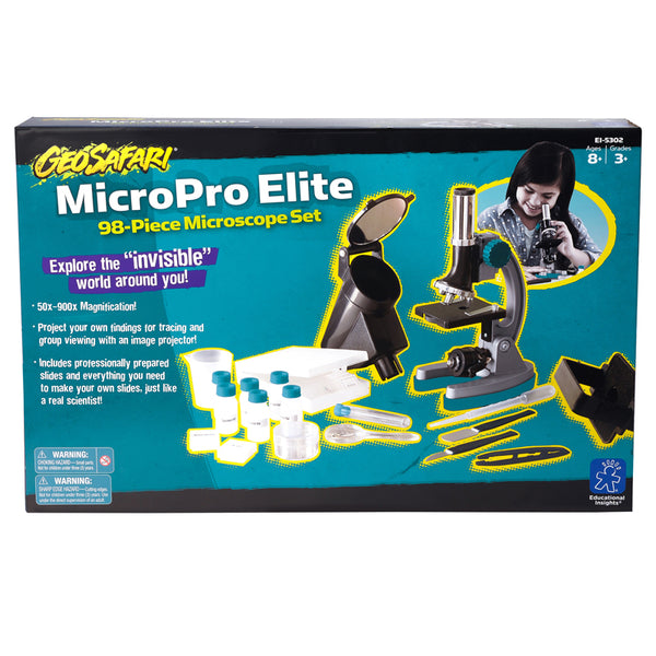 Educational-Science Lab-MicroProElite 98 Piece Microscope Set