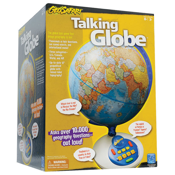Educational-Geosafari Talking Globe