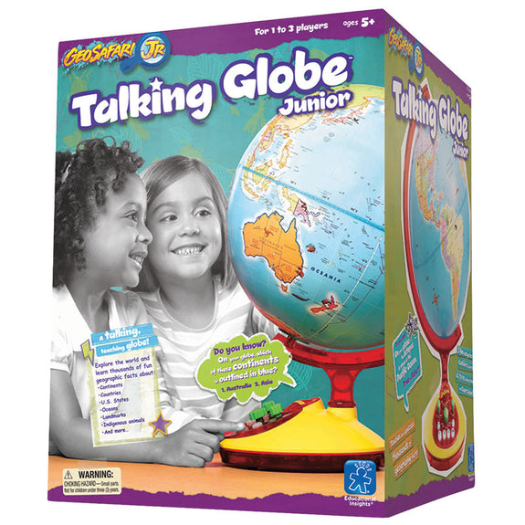 Exploring Minds-Educational-Geosafari Jr. Talking Globe-Ages 5 Plus