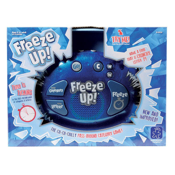 Freeze Up Learning Game for Ages 8-Adult - Seasonal Expressions