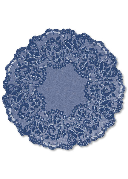 Table Linen-Table Topper-42 inch Round-Elizabeth-Heritage Lace