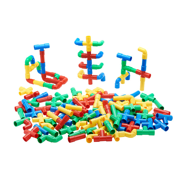 Building Set-Totally Tubular Pipes and Sprouts-80 Pieces-Creative Children