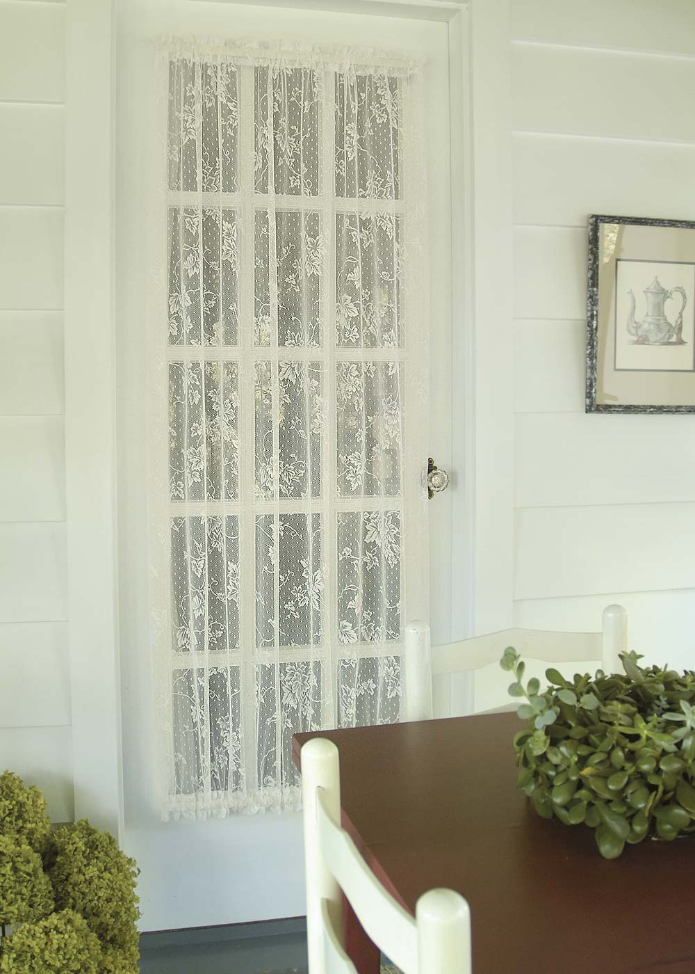Curtain-Door Panel-English Ivy-Heritage Lace