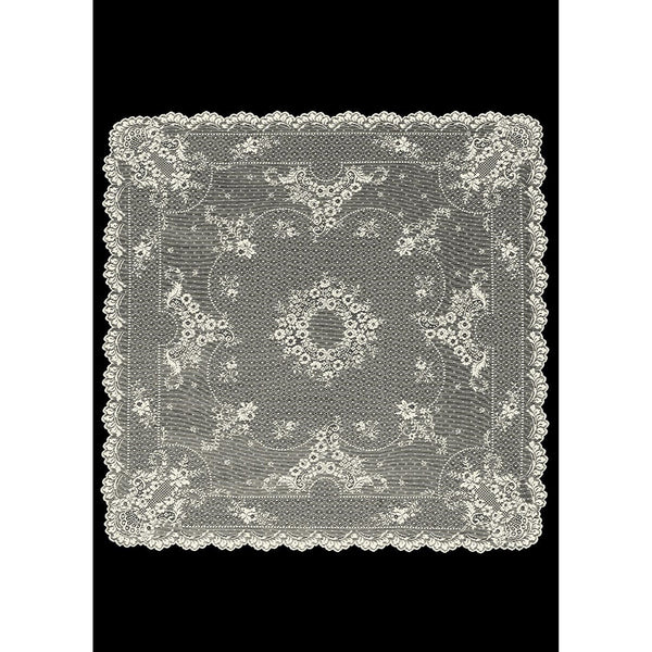 "36"" x 36"" Floret Table Topper from Heritage Lace - Seasonal Expressions - 1"