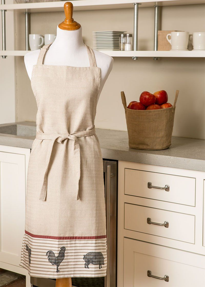 Apron-26x34-Farmhouse-Heritage Lace-Country Life