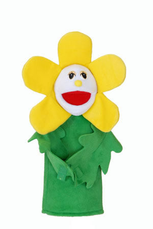 Flower Puppets- With Rods-Daisey Flora Flower-Imaginative Children