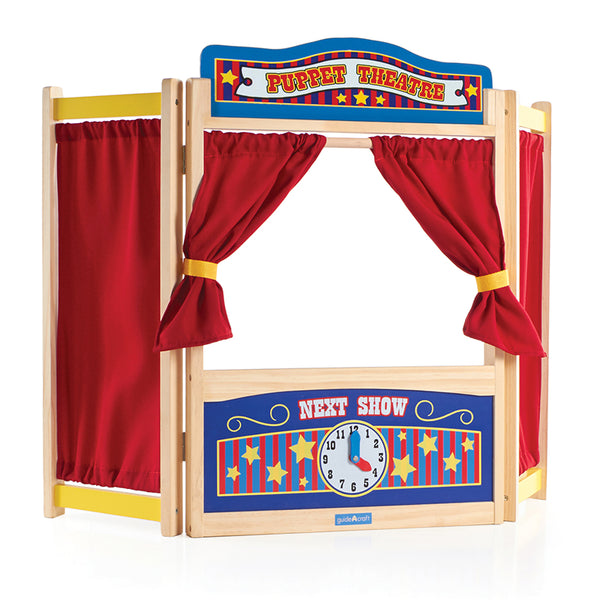 Puppet Stage-Pretend and Play Tabletop Theater
