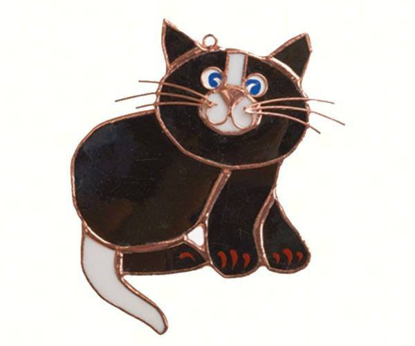 Tan  Or Black Cat Suncatcher - Seasonal Expressions - 2