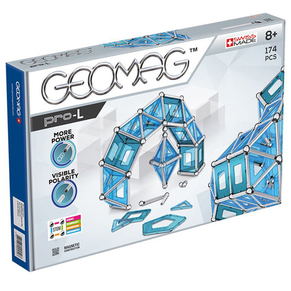 Design and Build-Educational-174 Pieces-Geomag Pro L-Magnetics
