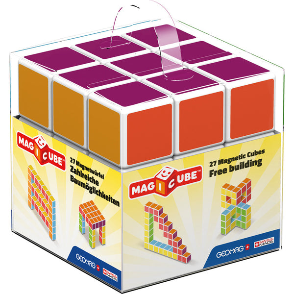 Building Set-Multicolored-Magnetic-Magicube-Creative Children