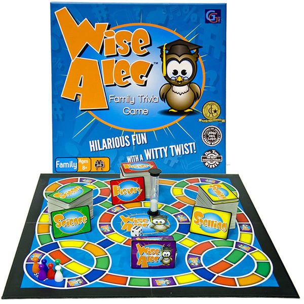 Family Game-Wise Alec-Trivia Fun