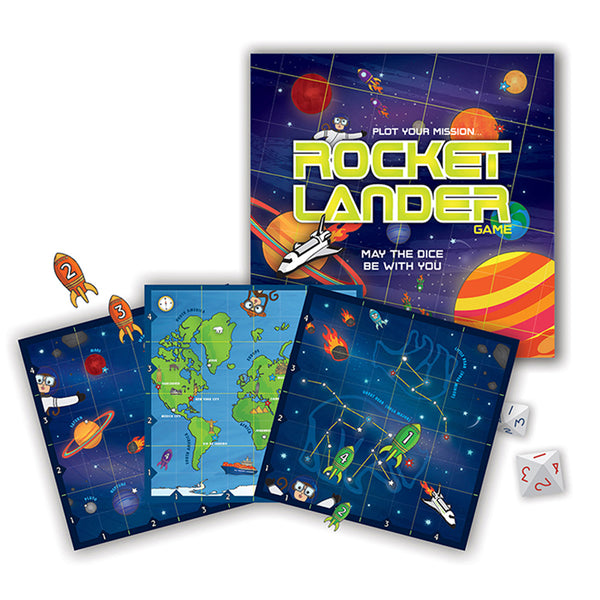Educational Game-Solar System-Rocket Lander