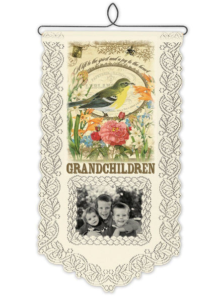 Wall Hanging-Grandchildren-A Lift-Heritage Lace