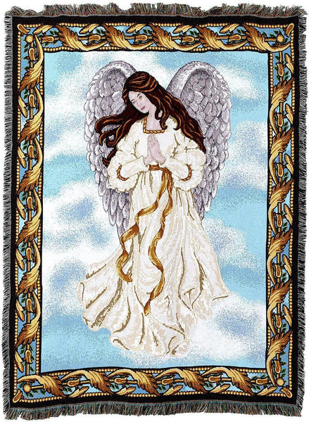 Christian Decor-Throw Blanket-54 x 72-Guardian Angel