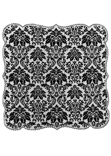 Table Linen-Table Topper-42x42-Heritage Lace-Heritage Damask