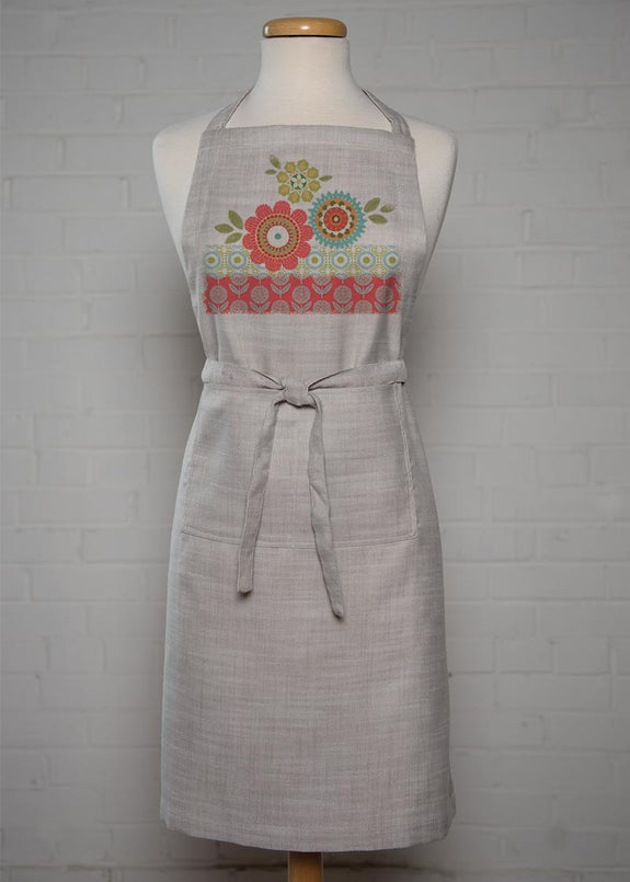Apron-Happy Day-Heritage Lace-Retro Look