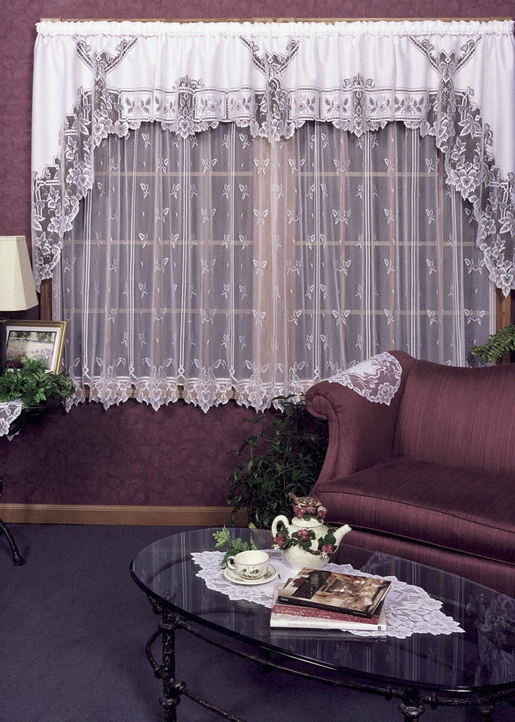 Heirloom Sheer Panels, Set of 2 Beautiful Window Coverings from Heritage Lace - Seasonal Expressions - 1