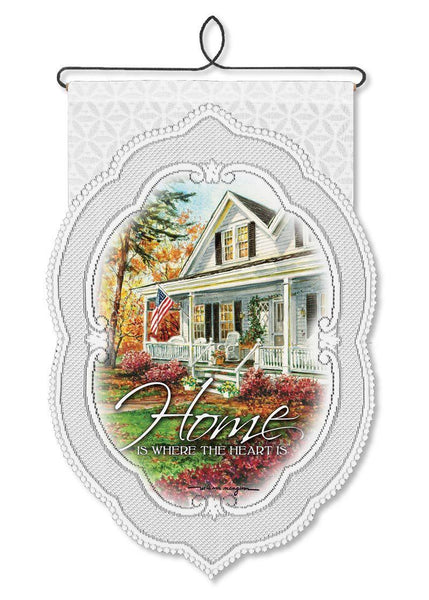 Home Is Where-Wall Hanging-Heritage Lace