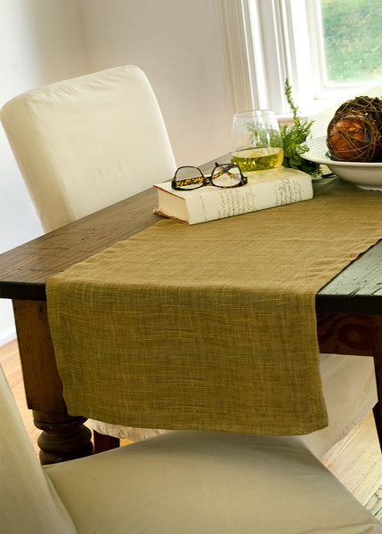 Table Linen-Runner-Dresser Scarf-Homespun-Heritage Lace