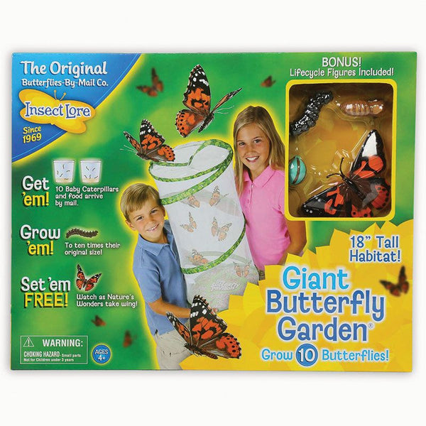 Giant Butterfly Garden for Ages 4-8 - Seasonal Expressions