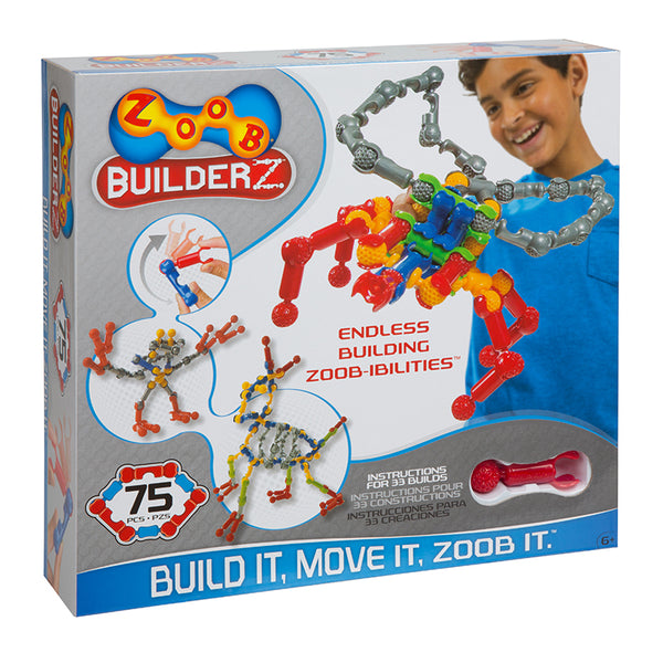 Design and Build-Educational-Construction 75 Piece Building Set-Zoob