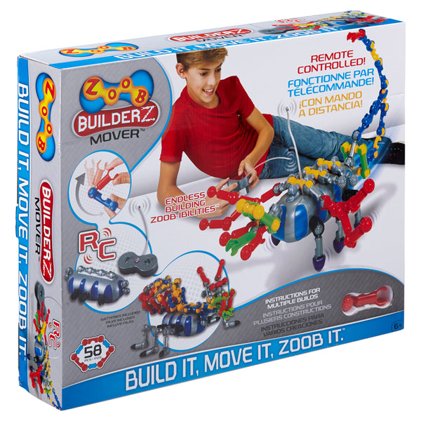 Design and Build-Educational-Zoobmover Power Building Set-Robotics