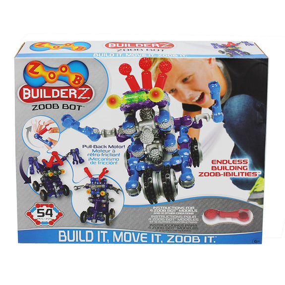 Design and Build- Zoob Bot-54 Pieces-Robotics-Creative Children