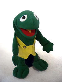 Puppet-Frog-Henry Boy