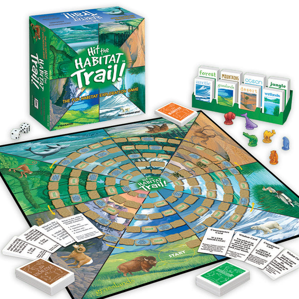 Family Game-Educational-Environment-Hit The Habitat Trail