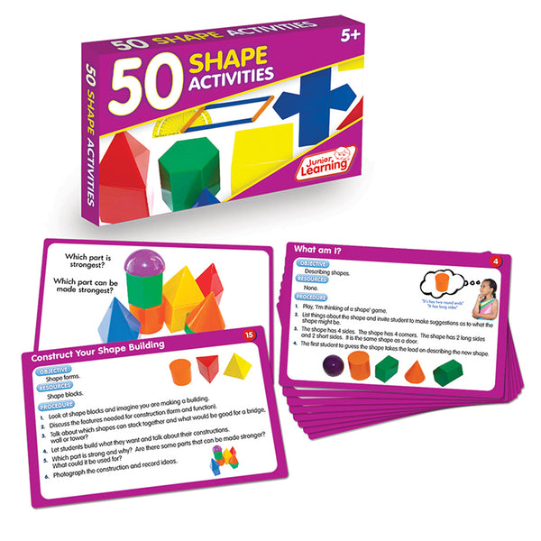 Educational-Math-50 Activities-Shapes