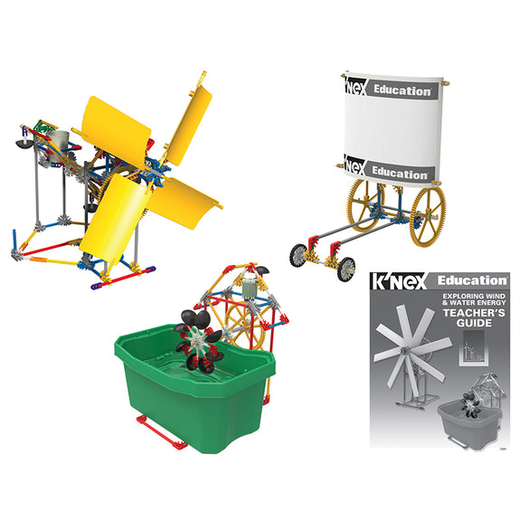 Physical Science-Knex Exploring Wind-Water Energy-Ages 9 Plus