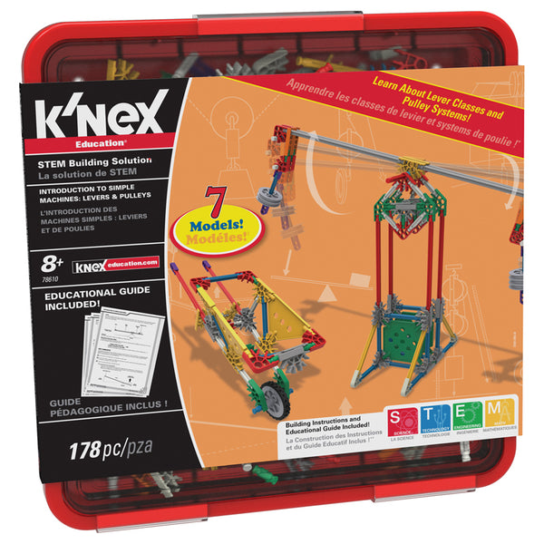 Physical Science-Machines-Knex Levers and Pulleys-Grades 3-5