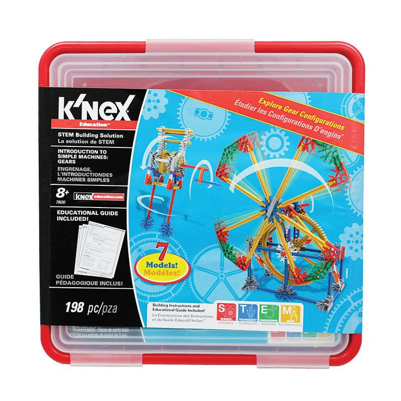 Knex Gears Model Building Set for Children Grades 3-5 - Seasonal Expressions