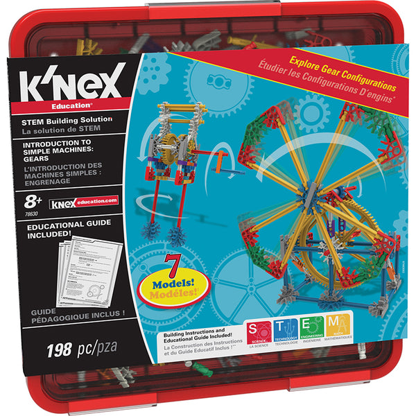 Design and Build-Physical Science-Machines-Knex Gears-Grades 3-5